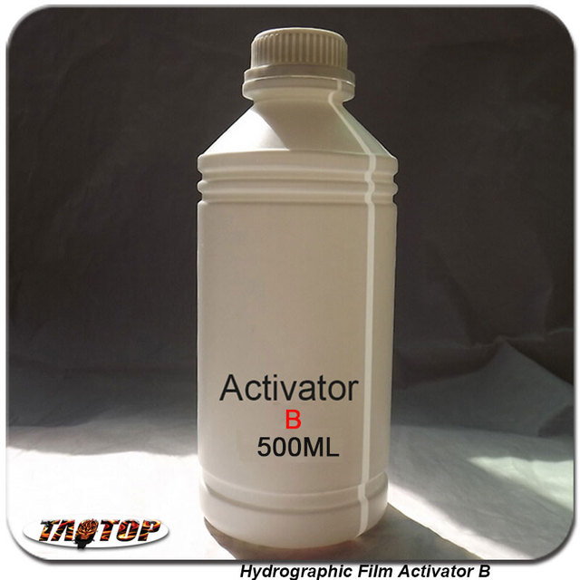 US $19 0 5% OFF|Activator B 500ml Water Transfer Printing Film Activator  Trigger Hydrographic Film Activator B-in Decals & Stickers from Automobiles  &