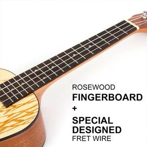 Image 5 - Укулеле для концерта, 23 дюйма, 4 струны, с узором в виде Ласточки и ивы