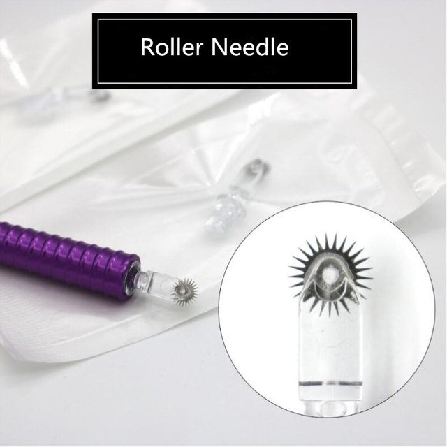 6.5mm Easy Coloring Roller Microblading Rollering Needles for Tatoo Embroidery Pen Permanent Makeup Fog Shading Needles
