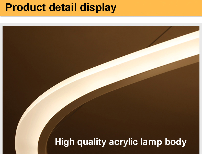 HTB1HvqGcL9TBuNjy0Fcq6zeiFXaY New Modern pendant lights for living room dining room 4/3/2/1 Circle Rings acrylic LED Lighting ceiling Lamp fixtures