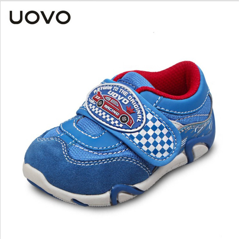 ФОТО UOVO autumn boys shoes little children sport shoes synthetic pu toddler boys shoes little kids shoes A003