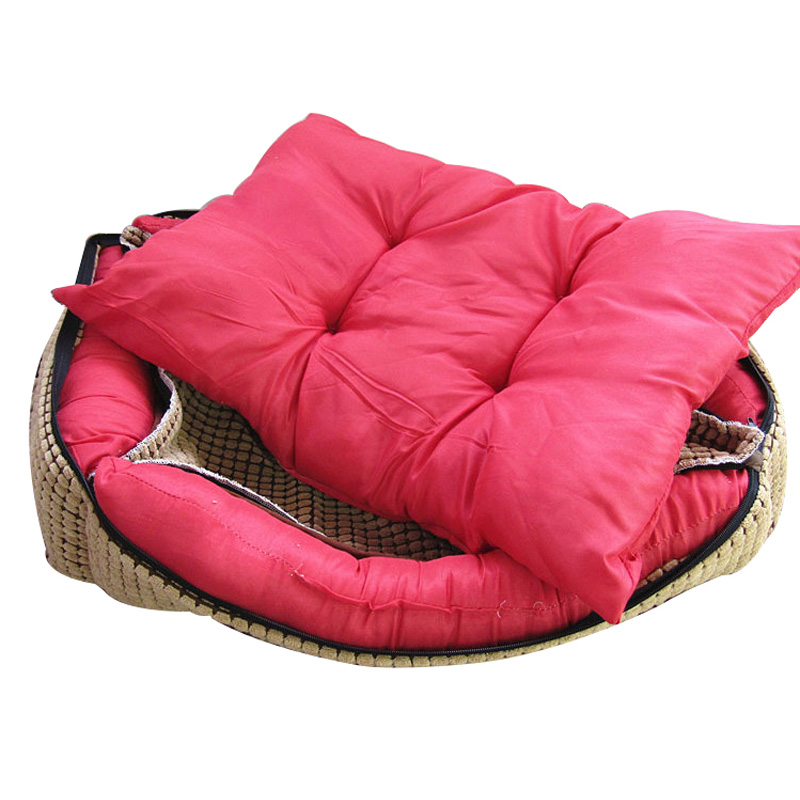 b9a52cbc4036 Waterproof Leather Dog Bed Washable PP Cotton Padded Pet Puppy Cushion For Large  Dogs-in Houses, Kennels & Pens from Home & Garden on Aliexpress.com ...