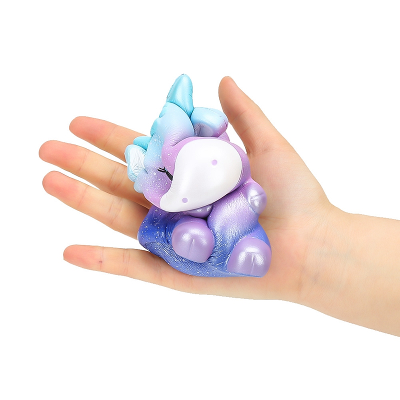 13cm Adorable Cartoon Collection Stress Reliever Galaxy Squeeze Cure Cow Sucker Scented Galaxy Slow Rising Squeeze Toy