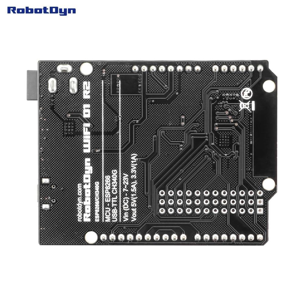 Аналоговый d1r2 «вемос», wi-fi d1 r2 интеграция esp8266 + 32 мб флэш-памяти, форм-фактор для фуршета ard. Uno r3