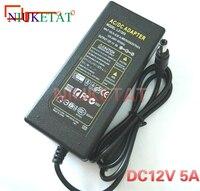 12V 5A LED Light Power Adapter LED Power Supply Adapter Transformer For 5050 3528 LED Light