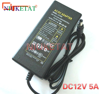 12V 5A LED Light Power Adapter LED Power Supply Adapter Transformer For 5050 3528 LED Light
