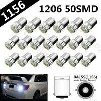 20Pcs Hight Quality 1156 3020 SMD 50 Led Car Light BAY15D Reverse Lights Auto Light Bulb