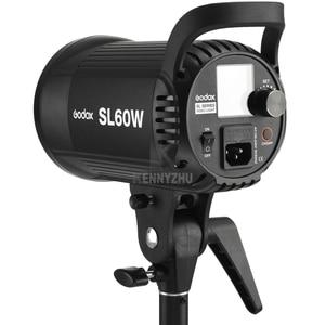 Image 2 - Photo Studio Godox SL 60W SL 60Y CRI 95 + HA CONDOTTO LA Luce Video SL60W Bianco 5600 K 60 W Bowens Mount + remote Controller + Riflettore
