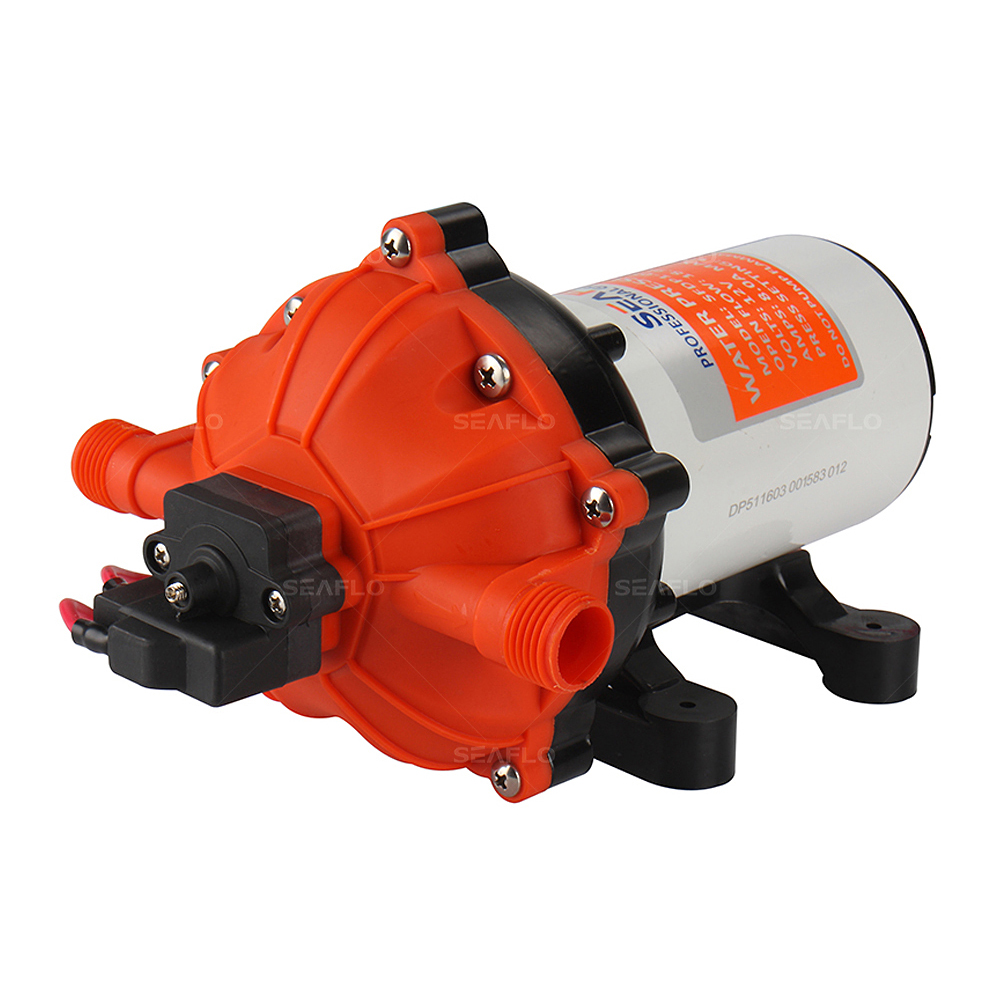 SEAFLO Water Pressure Pump 70PSI 18.9 LPM 12v Pump Caravan Positive Displacement Water Pumps всесезонная шина yokohama geolandar a t s g012 225 55 r18 98h