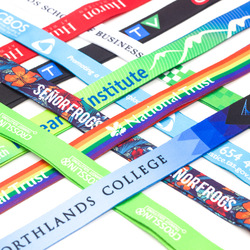 15mm  ( Heat transfer printing) Custom Lanyards Personalized Lanyards with Your Own Logos Text or Motif (100pcs)