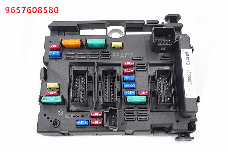 peugeot 206 fuse box central locking 9657608580 fuse box module general system relay controller body  fuse box module general system relay