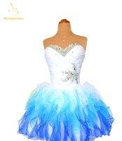 Bealegantom Custom Made Mini A Line Short Homecoming Dresses 2017 With Organza Prom Party Dresses Graduation