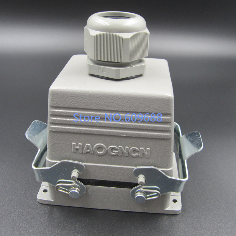 Aviation plug,Heavy Duty connector,Socket Plug Rectangle HDC-HE-032-2 32pins 16AAviation plug,Heavy Duty connector,Socket Plug Rectangle HDC-HE-032-2 32pins 16A
