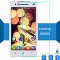 Для Lenovo A5000 Закаленное стекло Экрана Протектор 9 h 0.26 мм 9 h Безопасности Защитные Пленки для Стекла на 5000 Двойной тонкий