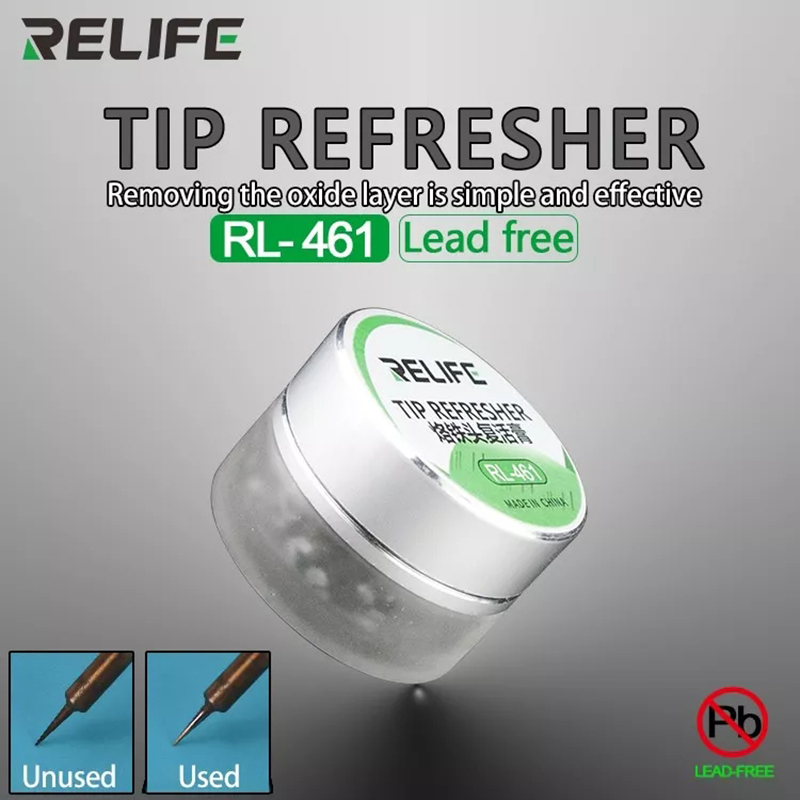 Soldering Iron Tip Lead-Free Refresher Clean Paste For Removing The Oxide Layer Solder Iron Tip Head Resurrection Cream