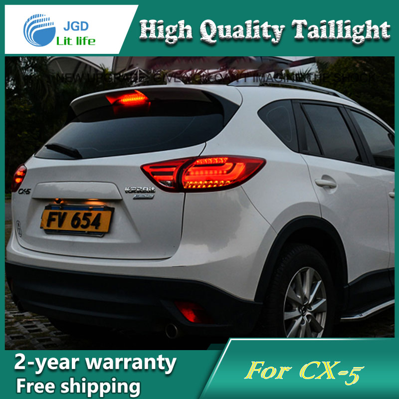 Car Styling Tail Lamp For Mazda CX 5 2011 2015 Tail Lights LED Tail Light Rear