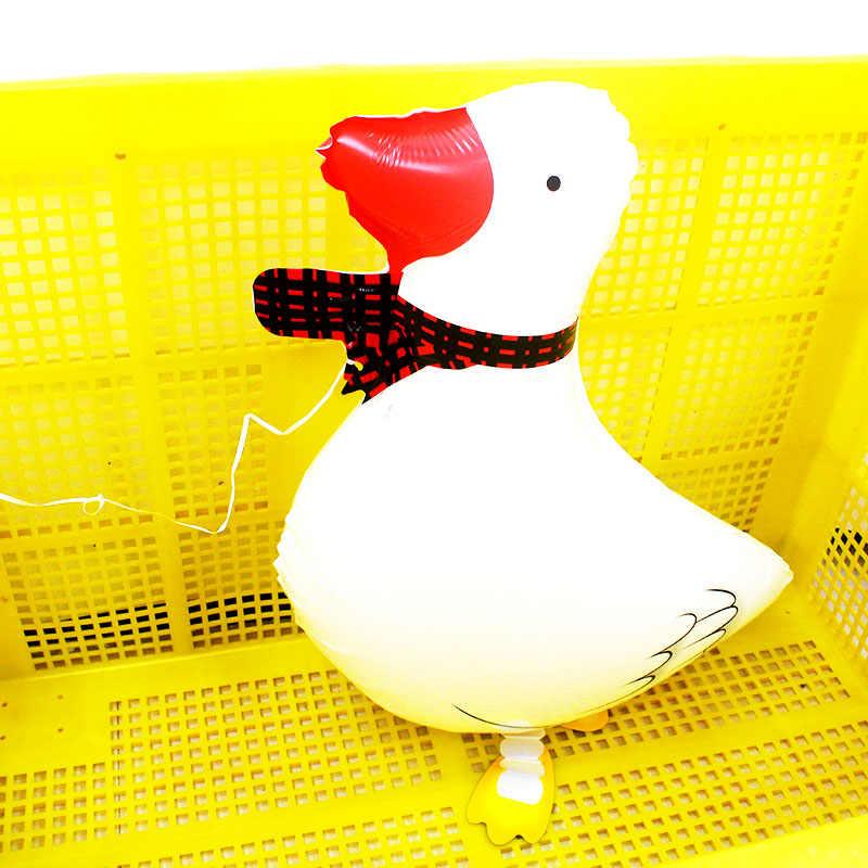 60*40CM Đi Bộ thú cưng Vịt Bong Bóng Khí Cầu động vật lá ballons Dự Tiệc Cung cấp mẫu giáo trang trí tiệc sinh nhật trẻ em/ người lớn