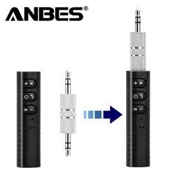 Universale 3.5mm jack Kit Per Auto Bluetooth Hands Free Music Audio Receiver Adapter Auto AUX Kit per Cuffia Altoparlante Auto stereo