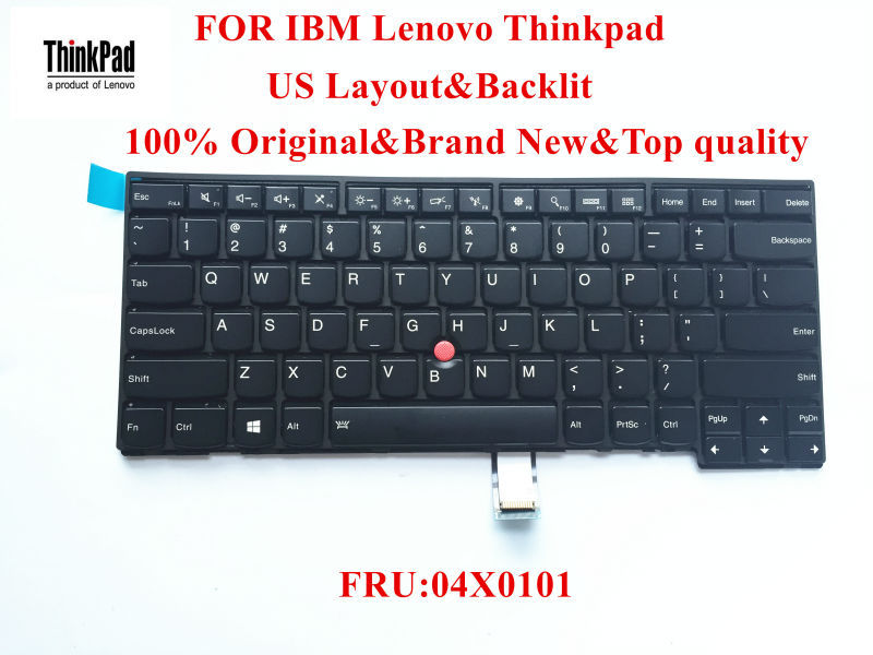 100% Brand New Original laptop Keyboard for lenovo Thinkpad T431s T440 T440p T440s Keyboard US Layout with Backlit FRU 04X0101 люстра crystal lux emilia sp5
