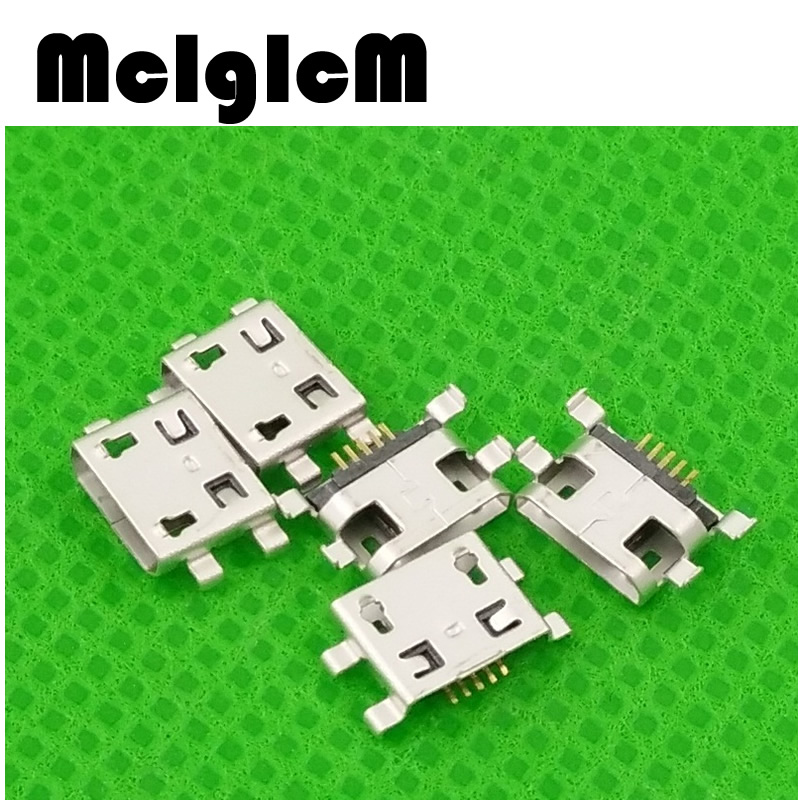 MCIGICM 100pcs Micro USB Connector 5pin B type Female Connector Micro USB Connector Tail Charging socket Free shipping конденсатор mcigicm 40026 120pcs 12