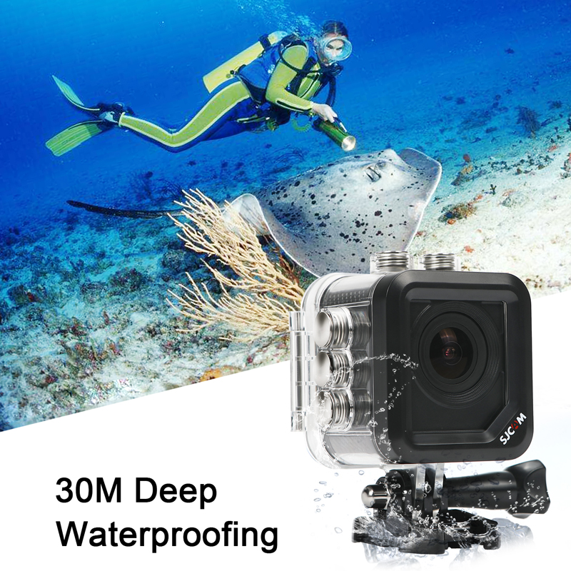 Original SJCAM M10 Sports Action Camera Full HD 1080P 170 degrees Mini Diving 30M Waterproof Camera mini Camcorder M10 Sport DV