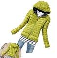 Парки зима женское вниз куртка женщины одежда зима пальто цвет пальто женщины куртка парка