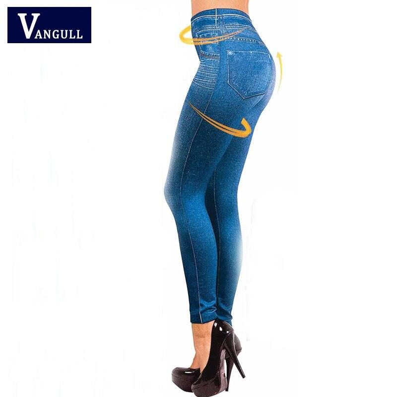 Hot Sale Women Leggings Jeans Leggins Black Jeggings 2016 -1719