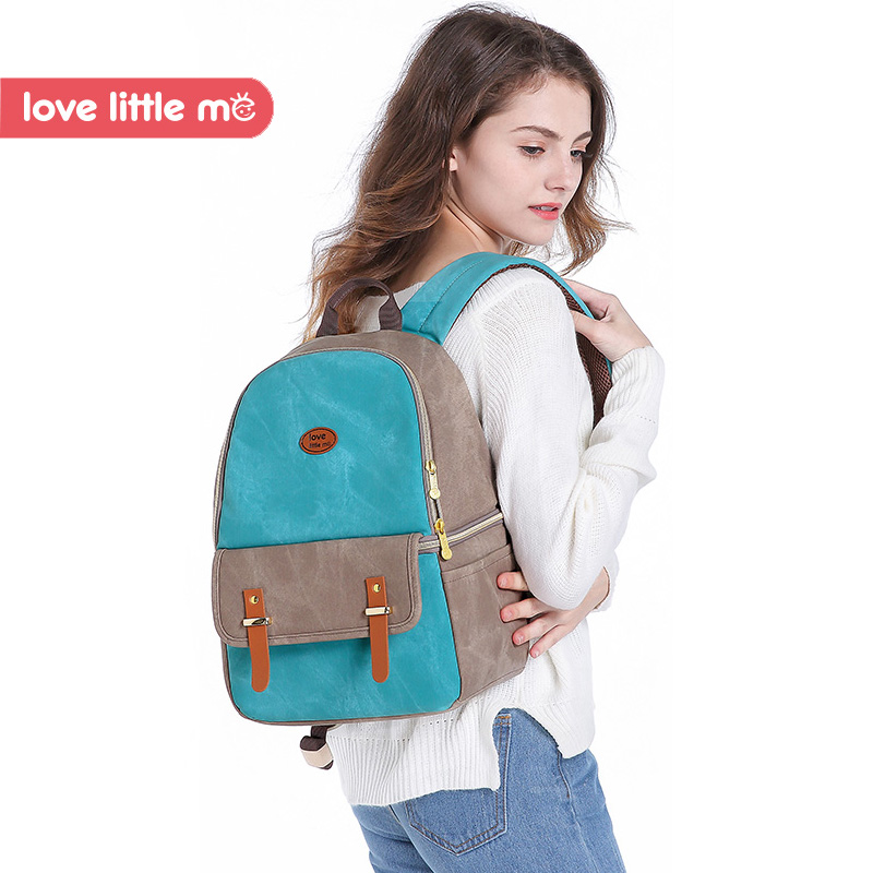 love little me brand multifunction mommy diaper bag high capacity maternity backpack nappy bag for baby care bag # L-NB03