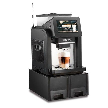 все цены на ME-819 Italian commercial fully automatic coffee machine scan code coffee machine small fresh grinding онлайн