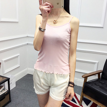 new arrival100% pure silk women shirts female o-neck bottoming shirt Satin Silk T-shirt vest Large brimmed  printing vest-b184-1