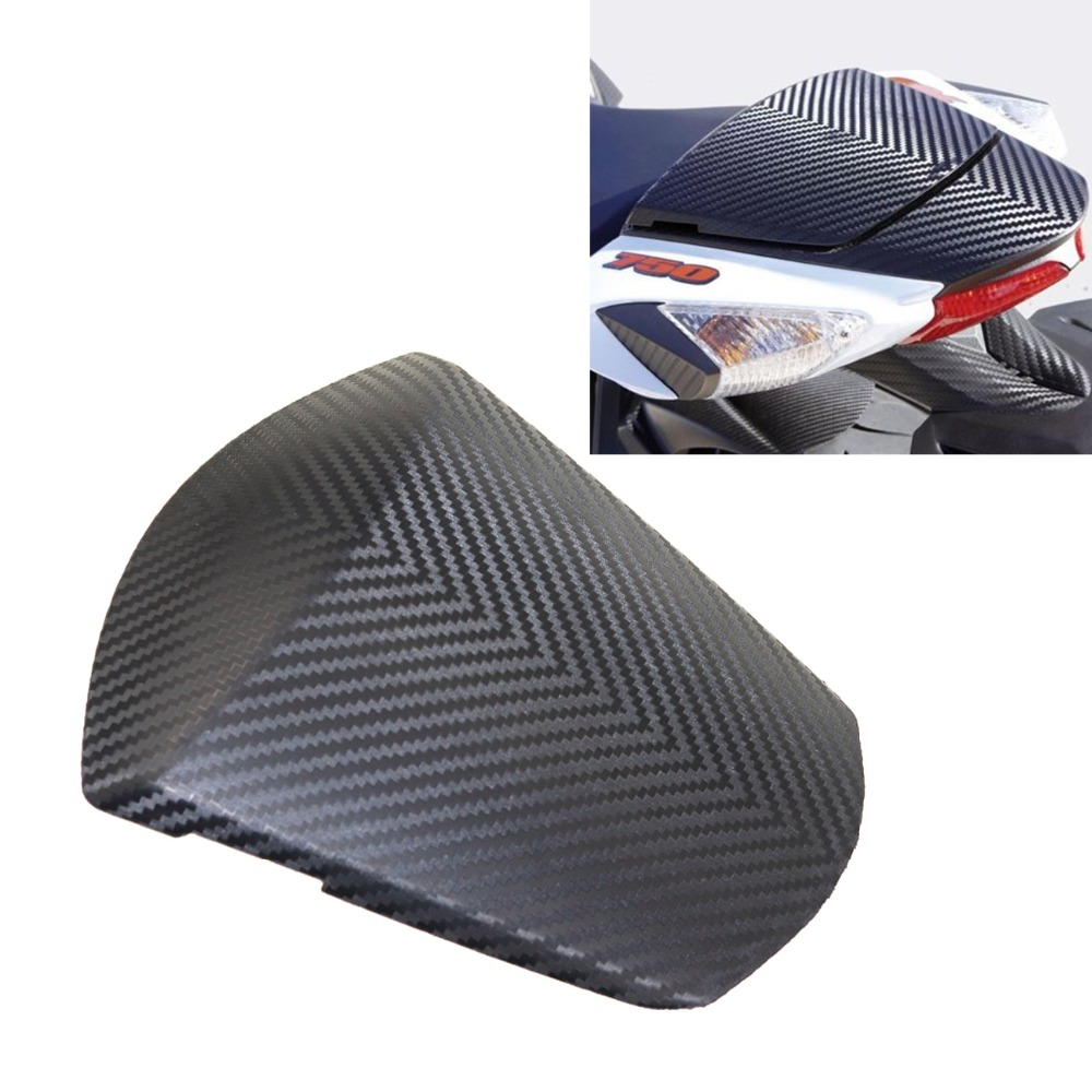 Motorcycle Rear Seat Cowl Cover For Suzuki GSXR 600 GSX-R 750 2011-2016 2012 2013 2014 2015 Carbon Fiber for suzuki gsxr 600 gsx r 750 2004 2005 k4 motorbike seat cover brand new motorcycle carbon fairing rear sear cowl cover