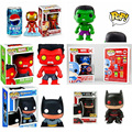 Funko POP 10CM Bobble Head Figure The Avengers Hulk, Thor and Captain America Batman iron man Action Figure Toys Figure