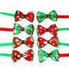 Christmas Holiday Dog Collar Bow Tie 1