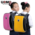 UNME new schoolbag in 1-3 grade students Lovely princess for girls backpack bag
