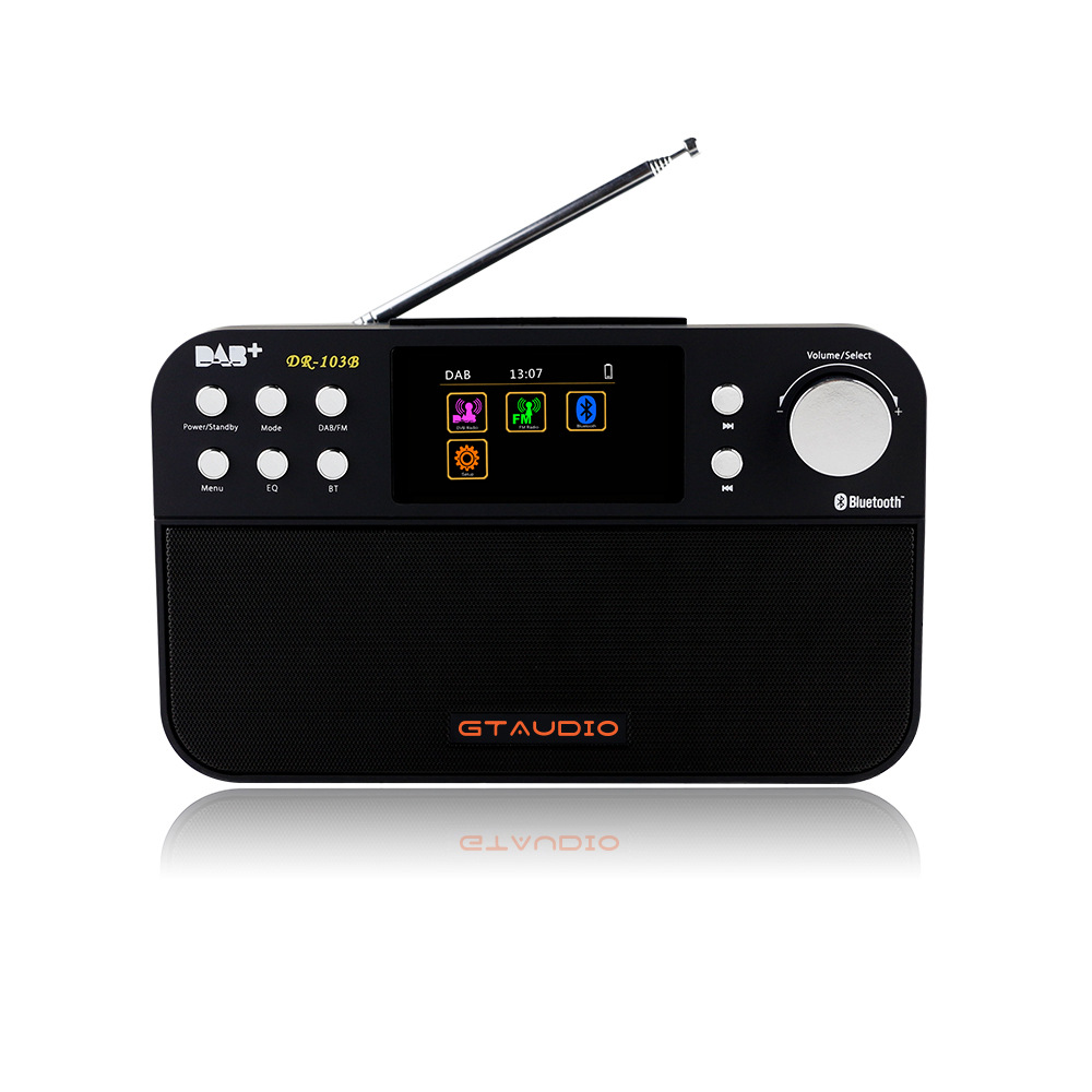 Digital FM Radio Digital linternet radio portable fm DAB DAB+ Radio Mini bluetooth Speaker radio RD103B 5pcs pocket radio 9k portable dsp fm mw sw receiver emergency radio digital alarm clock automatic search radio station y4408