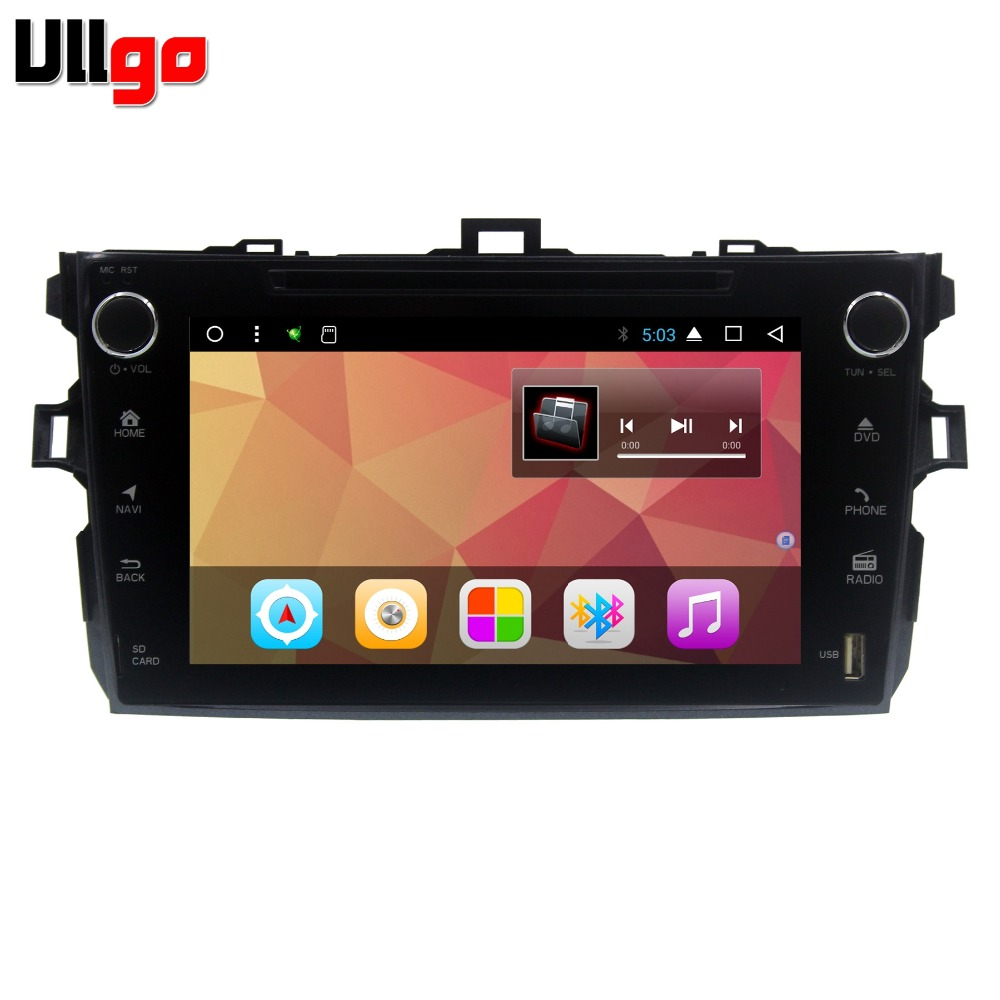 Octa Core <font><b>Android</b></font> <font><b>8.1</b></font> Car Stereo GPS Navi for Toyota Corolla 2006-2011 <font><b>Autoradio</b></font> GPS with BT RDS Wifi Mirror-link image