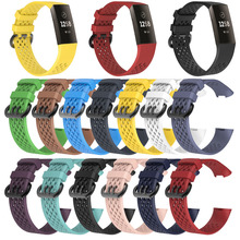 MASiKEN Sports Wrist Band Watchband Strap for Fitbit Charge 3 Fitness Activity Tracker Wristband Bracelet Belt