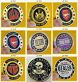 Wholesale 20pcs Poker Card Guard Cover Protector Chip Poker Gift 100 face design