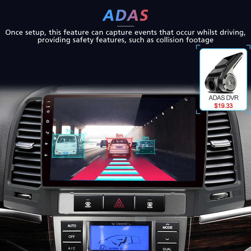 Junsun V1 Android 9.0 2G + 32G DSP Radio samochodowe multimedialny odtwarzacz wideo dla Hyundai Santa Fe 2 2006-2012 nawigacja gps 2 din no dvd