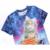 Mr.1991 Más Nuevo gatito divertido comer pizza impreso 3D camiseta para los niños y las niñas de verano estilo del gato 3D t shirt niños grandes tops A33