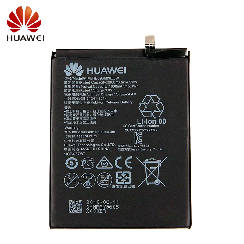 HUAWEI HB396689ECW Genuine Battery For Huawei Mate9 Pro Mate 9 4100mAh Phone Battery Tool in Mobile Phone Batteries from Cellphones Telecommunications