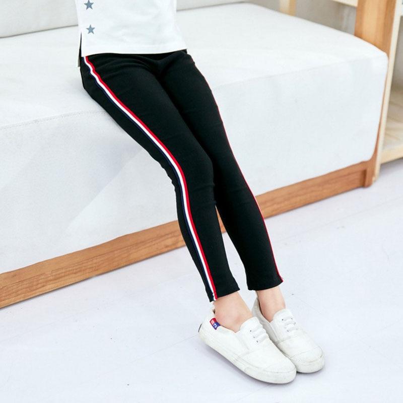 2018 New arrival Boys And Girls Fashion Striped Leggings Kids Pants girls pants girls leggings цены онлайн