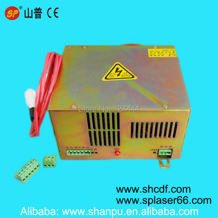 220V 40W CO2 laser power supply high quality for shanghai laser tube 40W for Co2 laser stamp machine or mini laser machines hot sell high quality cw3000 water chiller cooling laser tube for laser machine