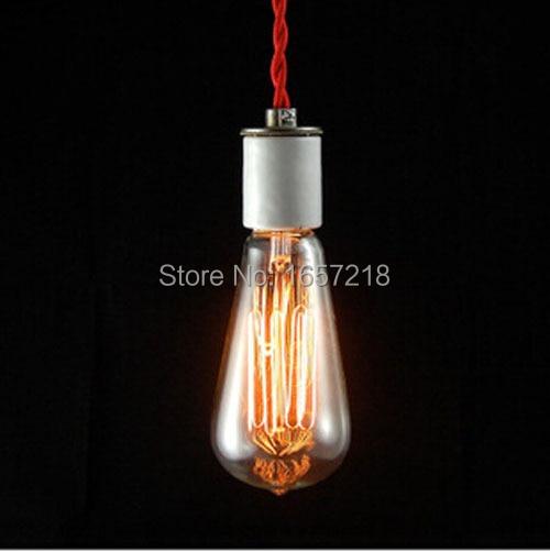 St64 retro led incandescent vintage light bulb diy for Edison bulb fixture diy
