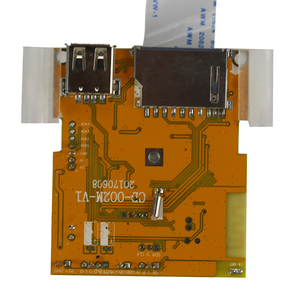 Image 4 - GHXAMP 4.3 بوصة LCD بلوتوث الفيديو فك المجلس MP3 الصوت MP4 MP5 DTS WAV FM AUX يدعم HD مدمج 16*16 ذاكرة DDR DC 5 فولت