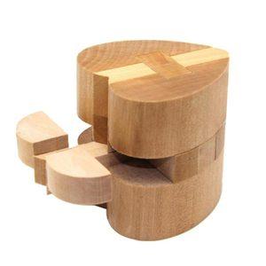 Image 4 - 3D Hout Puzzels Iq Brain Teaser Houten Grijpende Spel Speelgoed Jigsaw Intellectuele Leren Educatief Voor Volwassenen Kids Gift