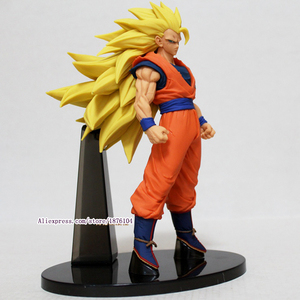 Image 3 - Аниме Dragon Ball Z Goku, фигурка Juguetes ACGN Dragonball Super Saiyan 3 фигурки, Коллекционная модель, детские игрушки, игрушки