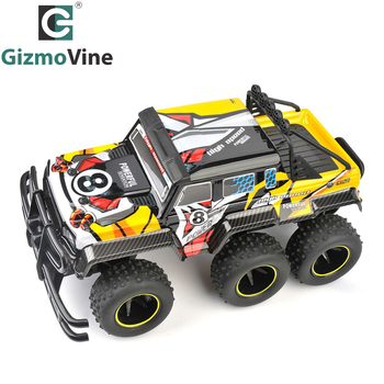 RC Car 6 Wheel 2.4GHz Rock Crawlers Rally climbing Rc Remote Control Model Off-Road Vehicle toys for children Gifts