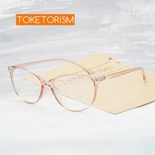 Toketorism retro women's eyeglass frame transparent frames for optical lenses woman  6342