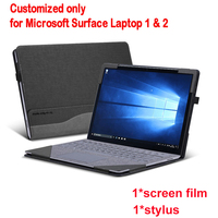 Detachable Cover For Microsoft Surface Laptop 1 2 13.5 Inch Tablet PC Laptop Sleeve Stand Case Screen Keyboard Film Pen 2 in 1